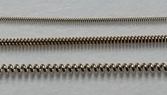 3mm x 2mm D SHAPE SECTION STERLING SILVER WIRE JEWELLERY MAKING in 100mm units